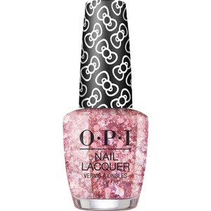 OPI Lacquer - Hello Kitty Collection - #HRL13 - Born To Sparkle 0.5 oz. (90035-HRL13)