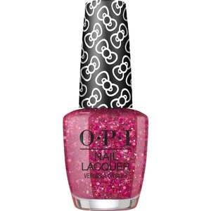OPI Lacquer - Hello Kitty Collection - #HRL14 - Dream In Glitter 0.5 oz. (90035-HRL14)