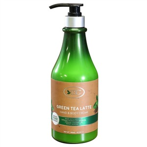 TSC Spa Organic Hand & Body Cream - Green Tea Latte 30 oz. ()