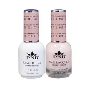 PND Matching Gel Polish 0.5 oz. + Lacquer 0.5 oz. Color #011 (#011)