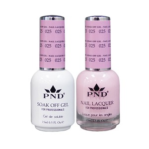 PND Matching Gel Polish 0.5 oz. + Lacquer 0.5 oz. Color #025 (#025)