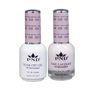 PND Matching Gel Polish 0.5 oz. + Lacquer 0.5 oz. Color #028 (#028)