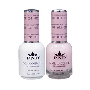 PND Matching Gel Polish 0.5 oz. + Lacquer 0.5 oz. Color #033 (#033)