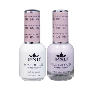 PND Matching Gel Polish 0.5 oz. + Lacquer 0.5 oz. Color #034 (#034)
