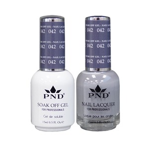 PND Matching Gel Polish 0.5 oz. + Lacquer 0.5 oz. Color #042 (#042)