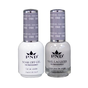 PND Matching Gel Polish 0.5 oz. + Lacquer 0.5 oz. Color #044 (#044)