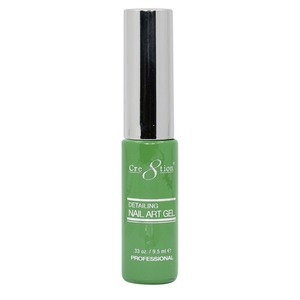 Cre8tion Detailing Nail Art Gel Striper - 05 Green 0.33 oz. ()