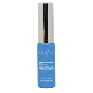 Cre8tion Detailing Nail Art Gel Striper - 07 Blue 0.33 oz. ()