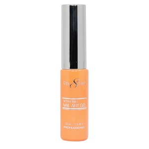 Cre8tion Detailing Nail Art Gel Striper - 12 Hot Orange 0.33 oz. ()
