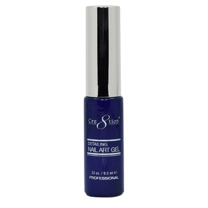 Cre8tion Detailing Nail Art Gel Striper - 14 Navy blue 0.33 oz. ()