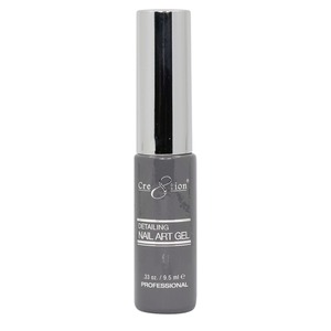 Cre8tion Detailing Nail Art Gel Striper - 16 Gray 0.33 oz. ()