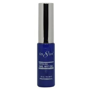 Cre8tion Detailing Nail Art Gel Striper - 18 Electric Blue 0.33 oz. ()