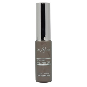 Cre8tion Detailing Nail Art Gel Striper - 19 Light Brown 0.33 oz. ()