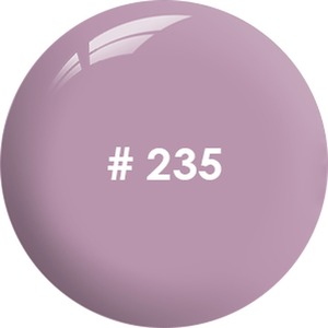ANC Powder 2 oz. - Winter 2019 Collection - #235 Crushed Purple 2 oz. - part of the ANC Acrylic Nails Dipping System (#235)