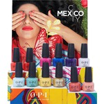 OPI Nail Lacquer - Mexico Collection - DCM03 Mexico City Lacquer Chipboard Display - 12 Pieces (14000)