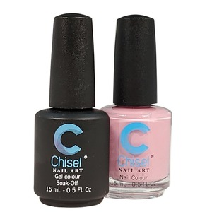 Chisel Duo Matching Soak Off Gel Polish 0.5 oz. + Nail Lacquer 0.5 oz Matches Chisel Dipping Powder Colors! SOLID14 (DUO-SOLID14)