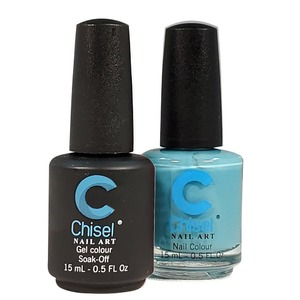 Chisel Duo Matching Soak Off Gel Polish 0.5 oz. + Nail Lacquer 0.5 oz Matches Chisel Dipping Powder Colors! SOLID29 (DUO-SOLID29)