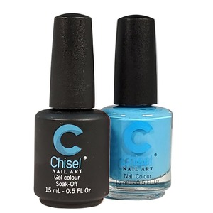 Chisel Duo Matching Soak Off Gel Polish 0.5 oz. + Nail Lacquer 0.5 oz Matches Chisel Dipping Powder Colors! SOLID32 (DUO-SOLID32)