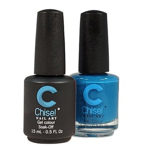 Chisel Duo Matching Soak Off Gel Polish 0.5 oz. + Nail Lacquer 0.5 oz Matches Chisel Dipping Powder Colors! SOLID62 (DUO-SOLID62)