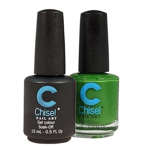 Chisel Duo Matching Soak Off Gel Polish 0.5 oz. + Nail Lacquer 0.5 oz Matches Chisel Dipping Powder Colors! SOLID65 (DUO-SOLID65)