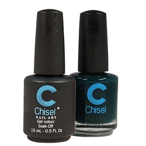 Chisel Duo Matching Soak Off Gel Polish 0.5 oz. + Nail Lacquer 0.5 oz Matches Chisel Dipping Powder Colors! SOLID66 (DUO-SOLID66)