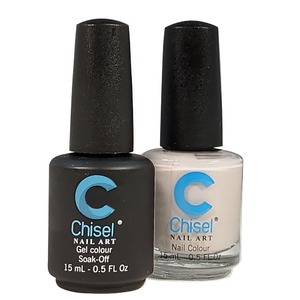 Chisel Duo Matching Soak Off Gel Polish 0.5 oz. + Nail Lacquer 0.5 oz Matches Chisel Dipping Powder Colors! SOLID68 (DUO-SOLID68)
