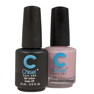 Chisel Duo Matching Soak Off Gel Polish 0.5 oz. + Nail Lacquer 0.5 oz Matches Chisel Dipping Powder Colors! SOLID69 (DUO-SOLID69)