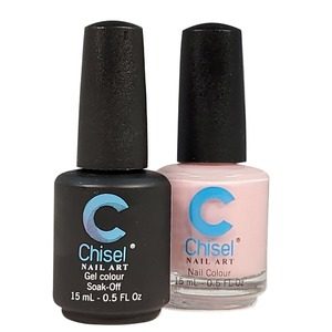 Chisel Duo Matching Soak Off Gel Polish 0.5 oz. + Nail Lacquer 0.5 oz Matches Chisel Dipping Powder Colors! SOLID70 (DUO-SOLID70)