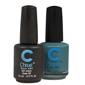 Chisel Duo Matching Soak Off Gel Polish 0.5 oz. + Nail Lacquer 0.5 oz Matches Chisel Dipping Powder Colors! SOLID73 (DUO-SOLID73)
