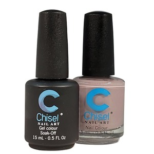 Chisel Duo Matching Soak Off Gel Polish 0.5 oz. + Nail Lacquer 0.5 oz Matches Chisel Dipping Powder Colors! SOLID78 (DUO-SOLID78)