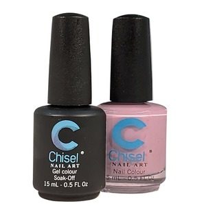 Chisel Duo Matching Soak Off Gel Polish 0.5 oz. + Nail Lacquer 0.5 oz Matches Chisel Dipping Powder Colors! SOLID79 (DUO-SOLID79)