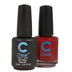 Chisel Duo Matching Soak Off Gel Polish 0.5 oz. + Nail Lacquer 0.5 oz Matches Chisel Dipping Powder Colors! SOLID83 (DUO-SOLID83)