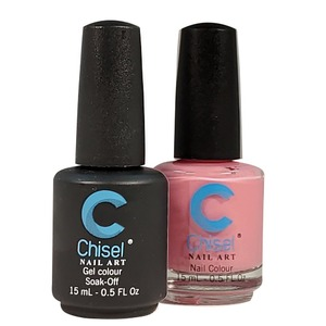 Chisel Duo Matching Soak Off Gel Polish 0.5 oz. + Nail Lacquer 0.5 oz Matches Chisel Dipping Powder Colors! SOLID89 (DUO-SOLID89)