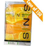 SNS - Pedi in a Box - 4 in 1 - Orange Case of 150 Treatment Sets (case sns-pedi-orange)