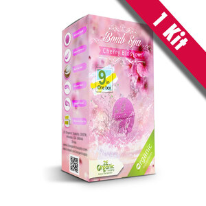 2E Organic - Bomb Spa 9-in-1 Pedi Kit - Cherry Blossom (1) 9-in-1 Kit ()