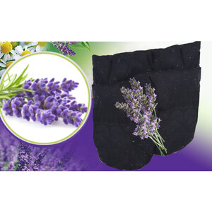 2E Organic - Healing Herbal Wraps - Herbal Inner Gloves - Lavender (19010)