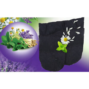 2E Organic - Healing Herbal Wraps - Herbal Inner Gloves - Mix Herbs (19011)