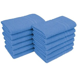 "Allure 29 - 100% Cotton Nail & Spa Towel 16"" X 29"" Royal Blue 12 Pack (19270 - ADI #75207)"