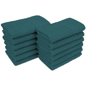 "Allure 29 - 100% Cotton Nail & Spa Towel 16"" X 29"" Sherwood Green 12 Pack (19278 - ADI #75262)"