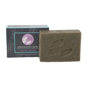 Alaska Glacial Exfoliating Mineral Soap Bar - Lavender & Peppermint - 100% Natural Retail Size - 4 oz. (SP089)