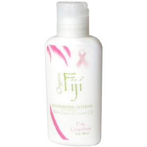Pink Grapefruit Moisturizing Lotion: Made With Certified Organic Coconut Oil 3 oz. Each Case of 48 (833884001241)