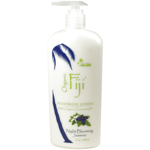 Night Blooming Jasmine Moisturizing Lotion: Made With Certified Organic Coconut Oil 12 oz. Each Case of 12 (833884001210)