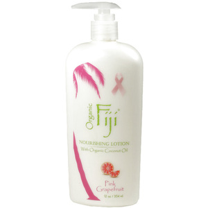 Pink Grapefruit Moisturizing Lotion: Made With Certified Organic Coconut Oil 12 oz. Each Case of 12 (833884001258)