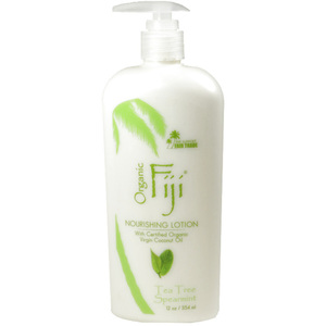 Tea Tree Spearmint Moisturizing Lotion: Made With Certified Organic Coconut Oil 12 oz. Each Case of 12 (833884000091)