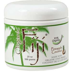Pineapple Coconut Certified Organic Cold Pressed Coconut Oil Sugar Polish 20 oz. Each Case of 12 (833884000886)
