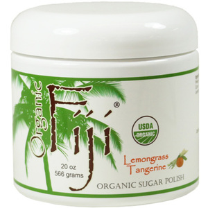 Lemongrass Tangerine Certified Organic Cold Pressed Coconut Oil Sugar Polish 20 oz. Each Case of 12 (833884000633)