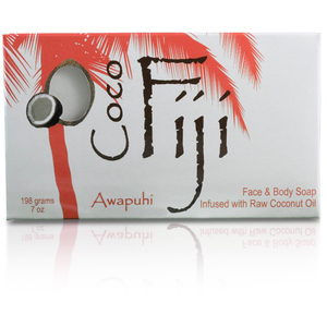 Awapuhi Seaberry Face & Body Soap Infused with Organic Coconut Oil Case of 15 Bars by Organic Fiji ()