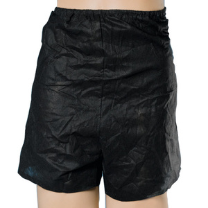 Men's Disposable Boxers - Black 120 Pack (505816 X 20)