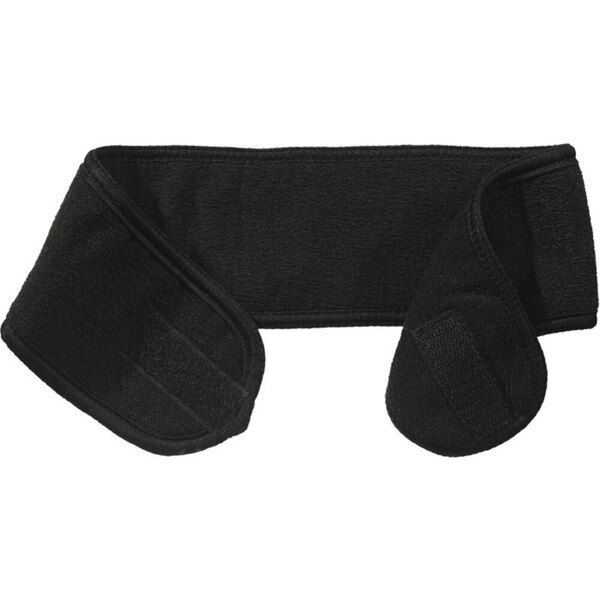 "Micro Terry Headband with Velcro Closure - 21"" X 3.25"" - Black 60 Pack (505615 X 60)"
