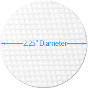 "Waffle Cleansing Pads - 2.25"" Diameter 5000 Pads (96582 X 2)"